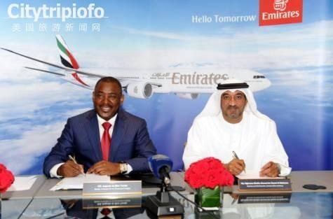 《安哥拉航空10年管理权被阿联酋航空承包》