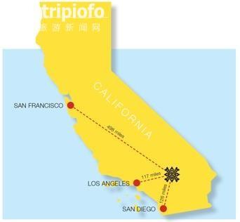 《美国加州阳光之乡--安纳伯格庄园》