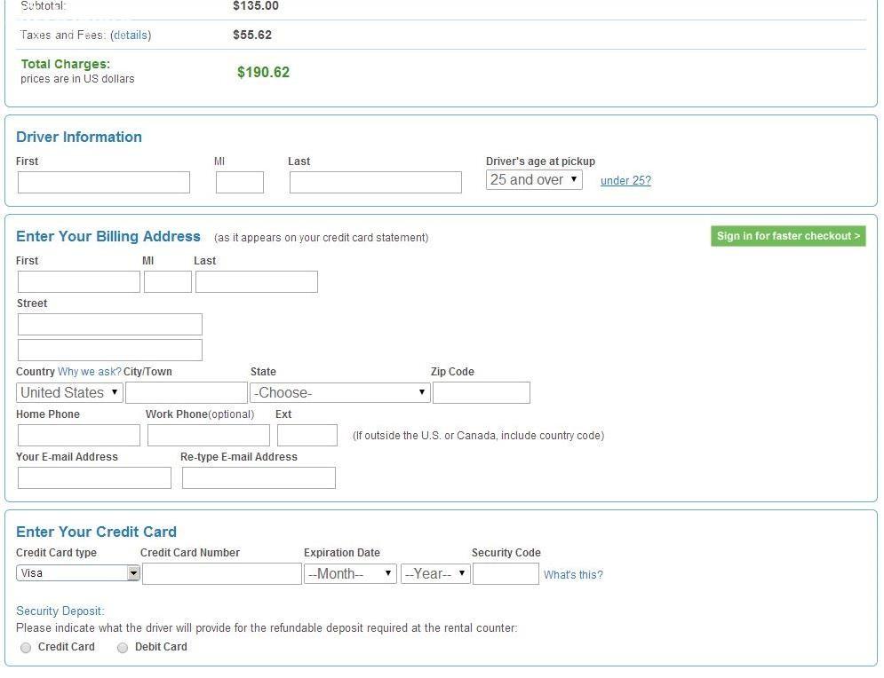 美国最便宜的租车方式!手把手教你使用美国Priceline网站租到最便宜的车!