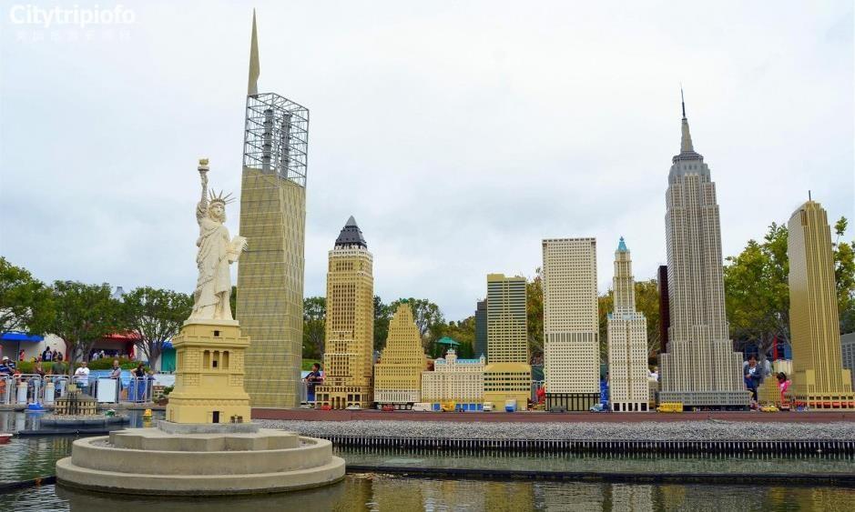《洛杉矶乐高主题乐园Legoland》