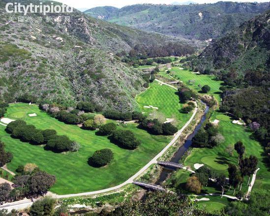 《洛杉矶海边特色高尔夫之旅》