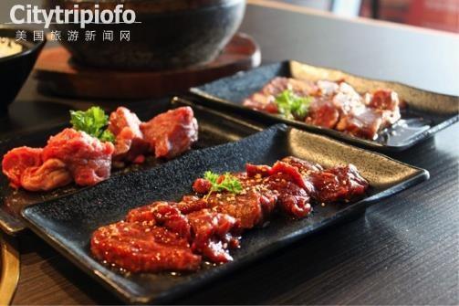 《洛杉矶日本美味烤肉-牛角(Gyu Kaku)》
