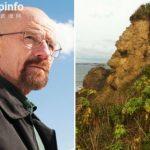 英国岩石酷似《绝命毒师》男主侧脸 吸引众多游客