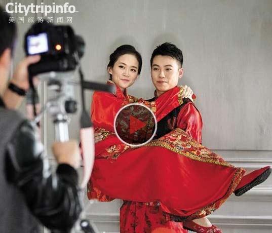 """《韩国推""""韩流""""特色婚纱照 吸引中国消费者》"""