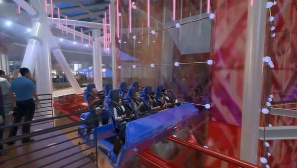 《游世界|美建最高云霄飞车 高170公尺时速105公里》