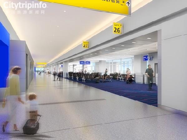 《肯尼迪国际机场T5航站楼扩建部分12日启用》