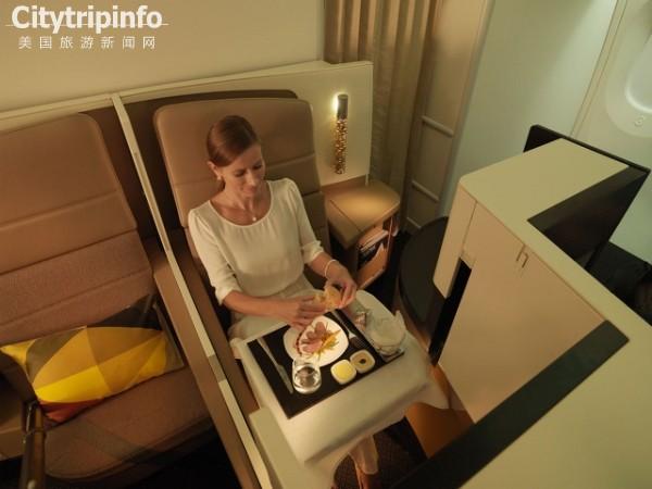 社交VS私密性 澳航新商务舱座椅分隔板引争议