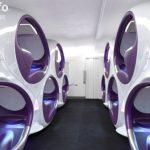 英设计公司提出3-D空气巢座椅设计概念
