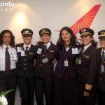 数据:印度女飞行员比例达11.6% 居全球首位