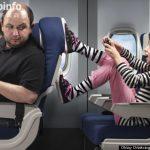 外媒评选坐飞机15种最烦人的行为
