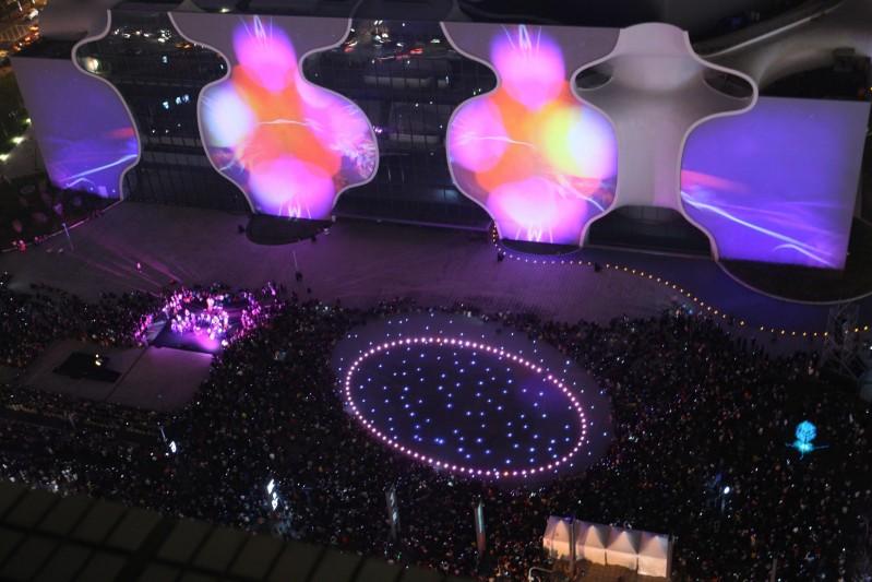 光舞纪3D光雕秀照亮台中国家歌剧院 祕密来自她的眼