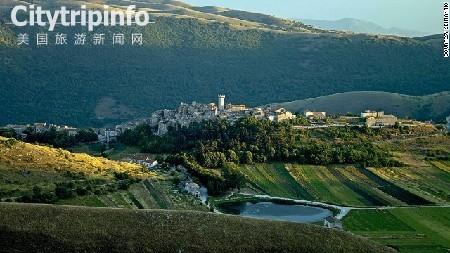 《即将消失的景色 意大利古村落》