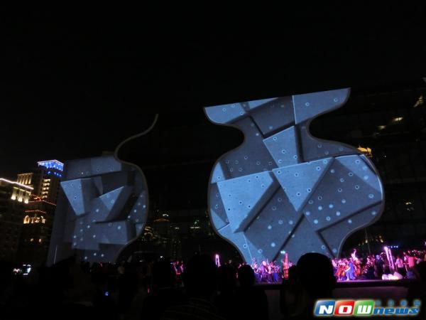 《谜样生物苏醒!号角响起 台中国家歌剧院冬夜跃动  》