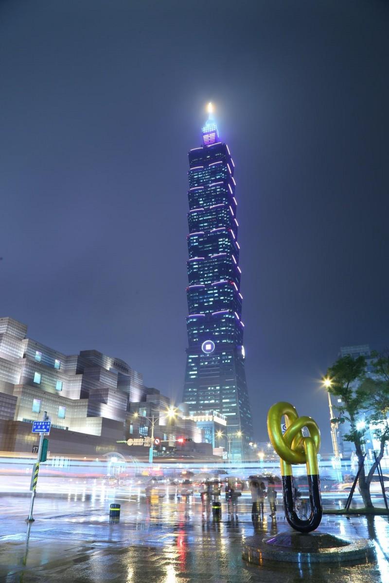 绝美!今晚紫漫台北城 原来都是为了『赞』助他们…