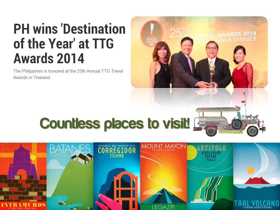 《菲律宾旅游宣传PPT》