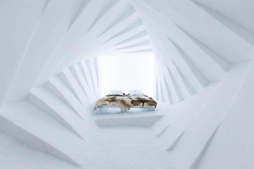 《旅馆奇观|瑞典冰雪酒店开业 主题房间纯美到令人窒息》