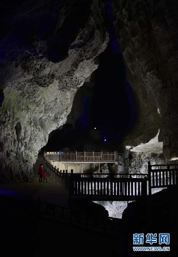 游世界|美丽自然景观! 位于湖北省丰县雄奇「黄金洞」