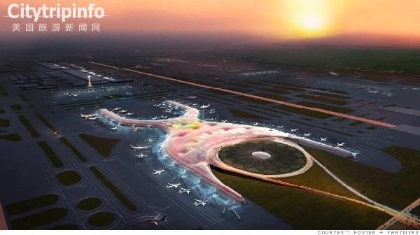 《未来机场:更大更高效 注重可持续性》