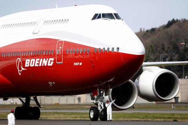 《航空货运复苏缓慢 波音再次下调747-8产量》