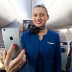 美联航将向2.3万名空乘派发iPhone 6 Plus