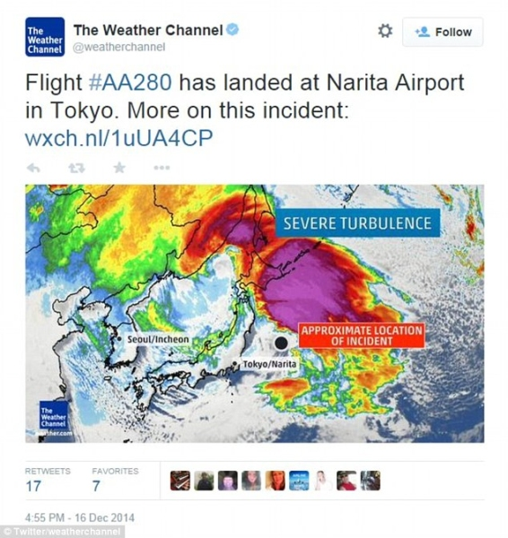 《美航一国际航班遇严重乱流备降 十余人受伤》