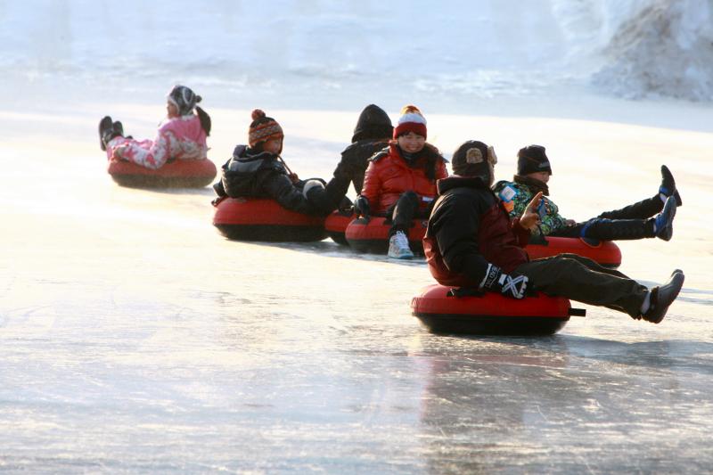 韩国冬季庆典~原来除了滑雪还可以这样玩!