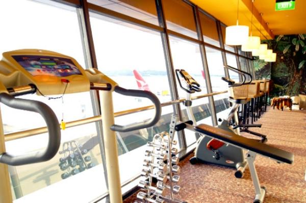 旅行也要健身 盘点9大绝佳健身机场