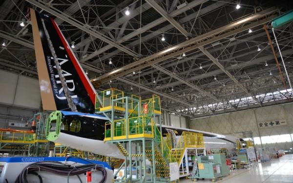 三菱飞机公布MRJ试飞机队 二季度首飞