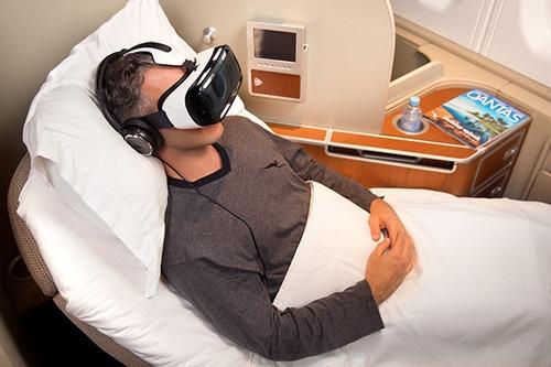客舱娱乐新趋势?澳航首推虚拟头戴式设备