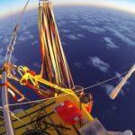 氦气球飞行员6天穿越太平洋 航程创历史记录