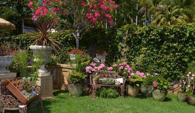 罗宾逊花园  Virginia Robinson Gardens