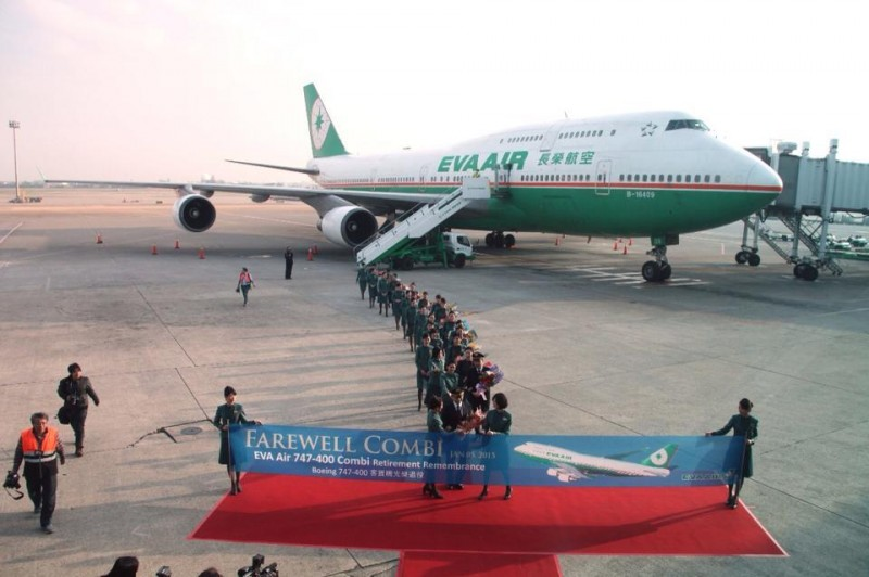 长荣747-400客货机走入历史!辉煌纪录无人能敌