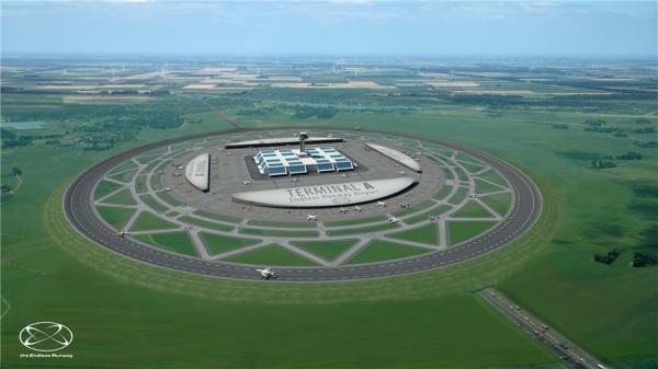 《欧盟研究环形跑道 飞机可从任何方向起降》