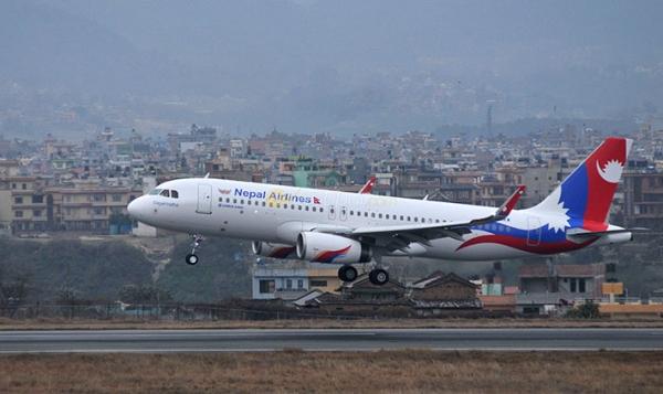 《尼泊尔航空接收首架A320 将飞印度德里航线》