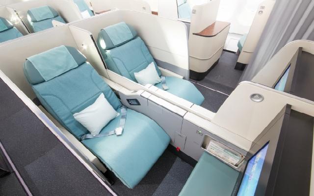 《大韩航空推出新商务舱座椅 A330-300上首先安装》