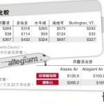美国机票比加国便宜3成 一家四口省800