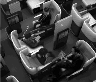 """《经济舱新睡姿?波音发明""""拥抱座椅""""》"""