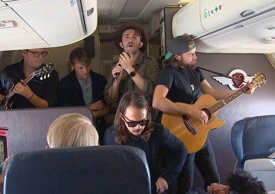 《35000英尺高空的音乐会 美西南营销新手段》