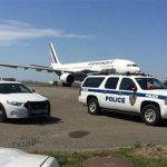 纽约地区多架航班受威胁 美F15护送法航客机