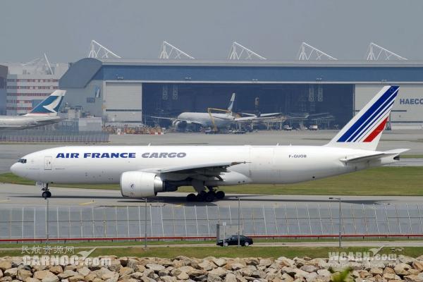 法航777货机重量数据少输100吨 起飞滑跑才发现