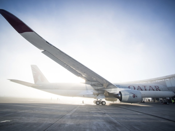 《卡航公布A350首条美国航线 明年1月将飞费城》