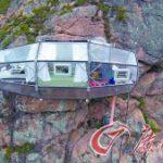 秘鲁货真价实的空中酒店:峭壁酒店让你睡在空中