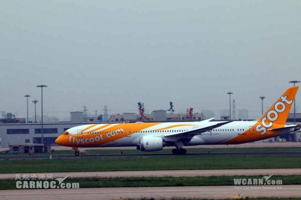 《酷航将成全球首家运营全波音787机队的廉航》