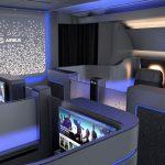 空客推出A350创新概念头等舱 仅设一条通道