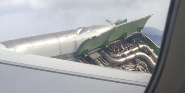 英航客机两引擎盖空中掉落 缘为机务修错飞机