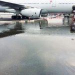 吉隆坡廉航航站楼下沉 滑行道开裂机坪积水