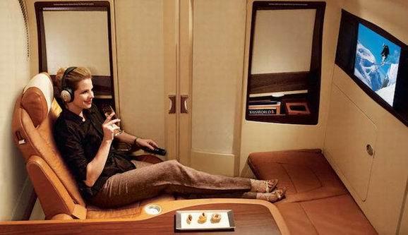 无需羡慕查尔斯 奢华的头等舱能给你贵族的享受