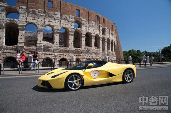 《法拉利140万善款致力意大利文化古迹保护》