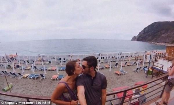 外国情侣31天环游世界 美景前拍照秀恩爱