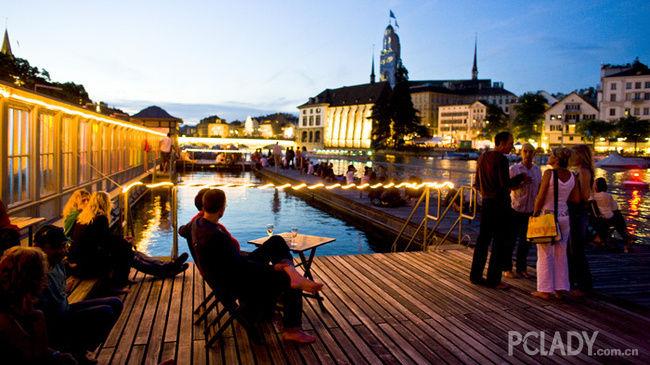 挥金苏黎世 见识欧洲最富有的城邦